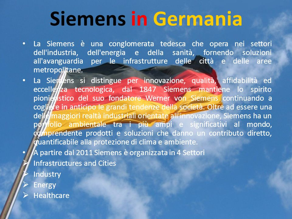 Siemens in Germania