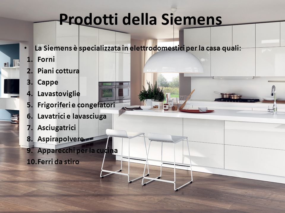 Prodotti della Siemens