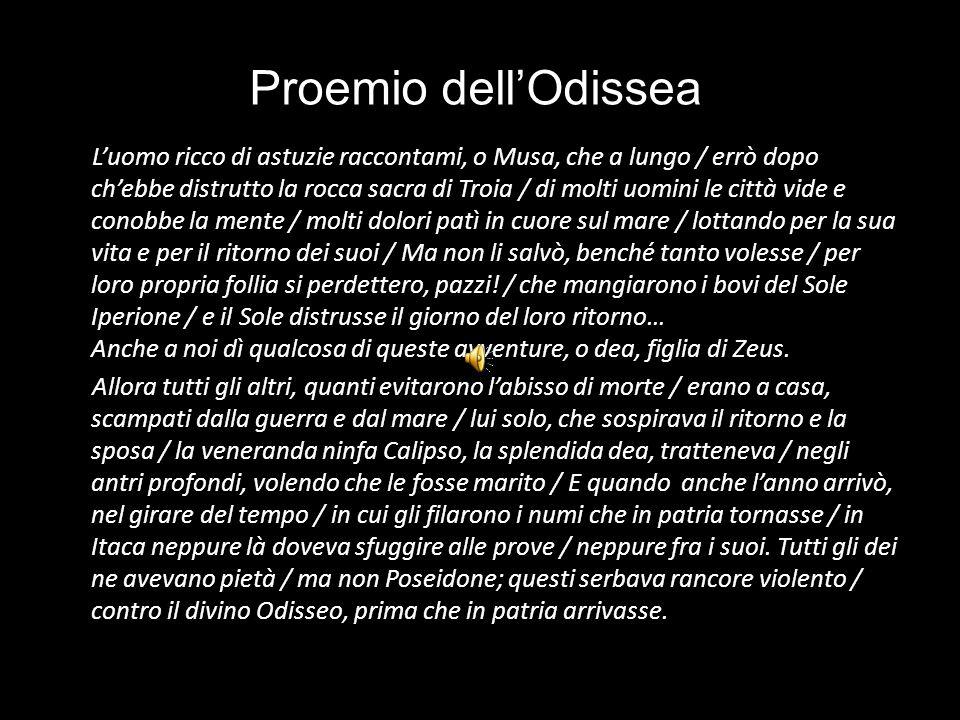 Proemio dell'Odissea