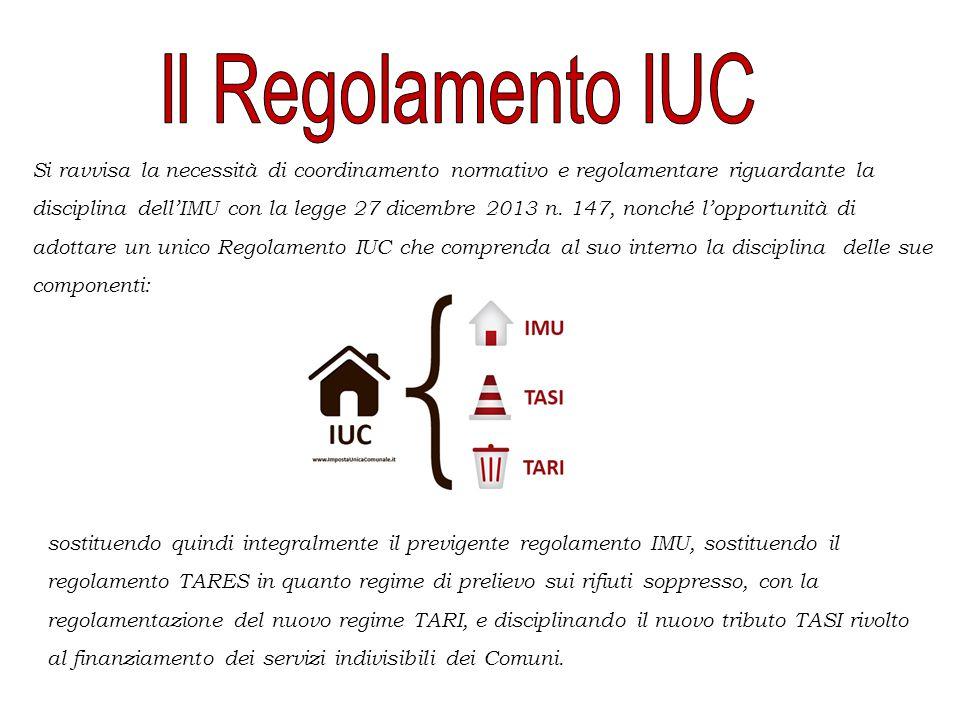 Il Regolamento IUC