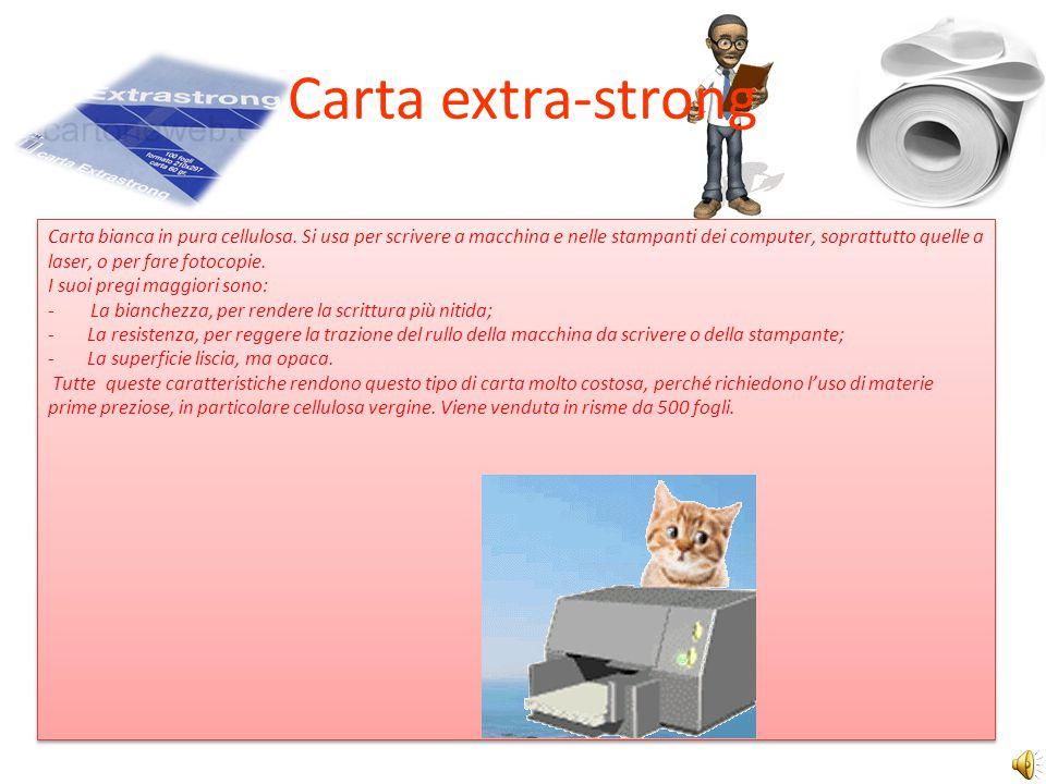 Carta extra-strong