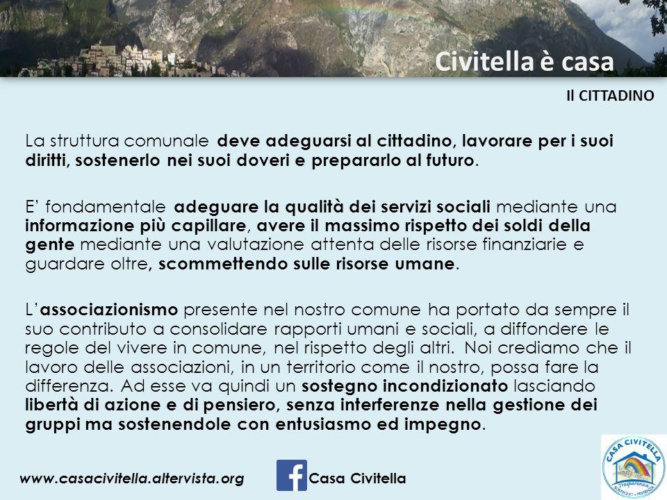 Civitella è casa Il CITTADINO.