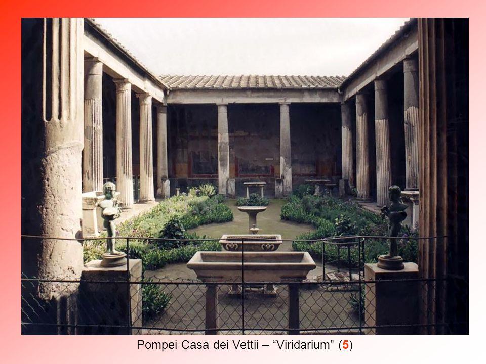 Pompei Casa dei Vettii – Viridarium (5)