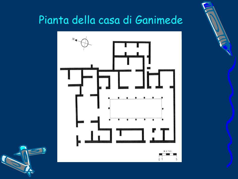 Pianta della casa di Ganimede