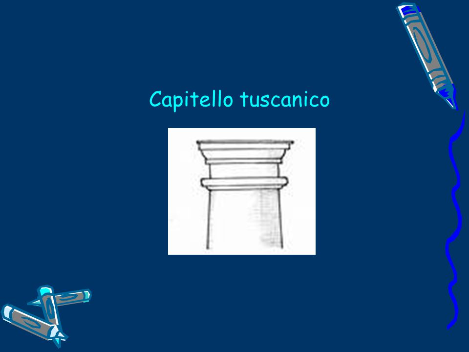 Capitello tuscanico