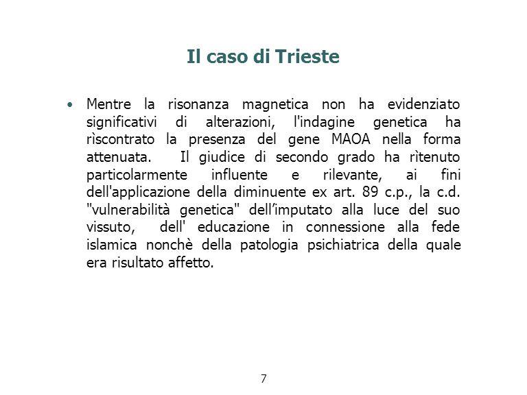 Il caso di Trieste