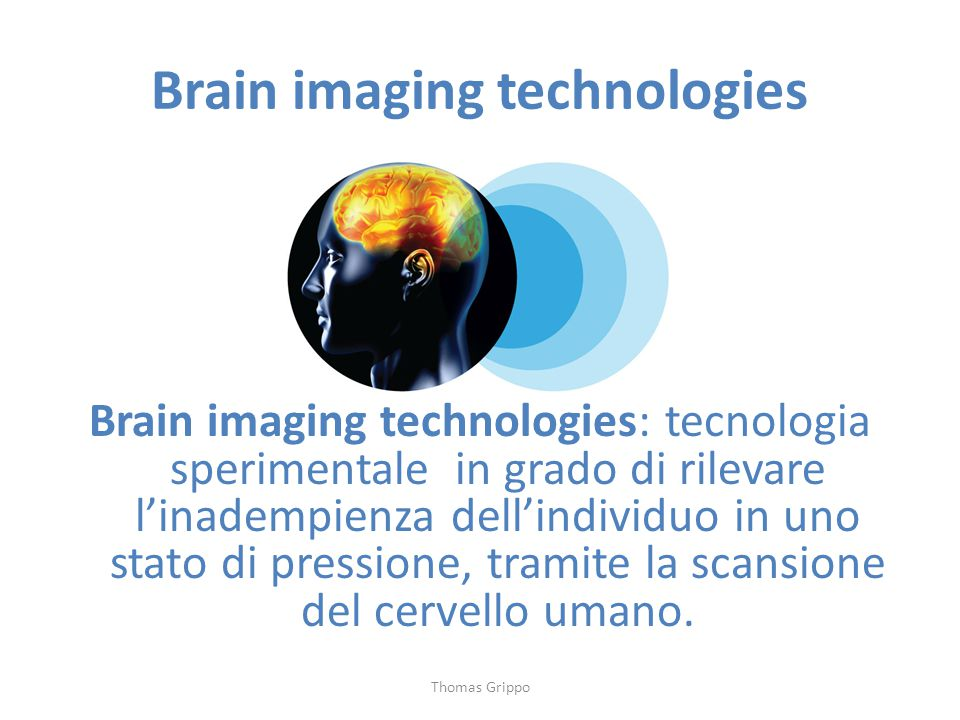 Brain imaging technologies
