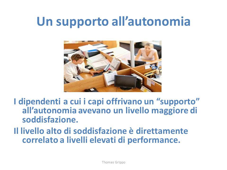 Un supporto all'autonomia
