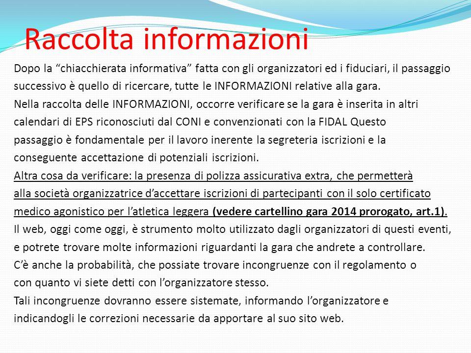 Raccolta informazioni