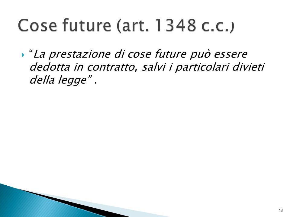 Cose future (art.
