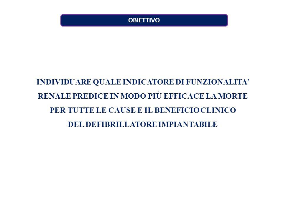 PER TUTTE LE CAUSE E IL BENEFICIO CLINICO