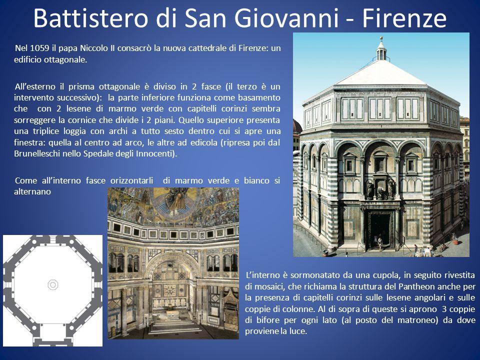 Battistero di San Giovanni - Firenze