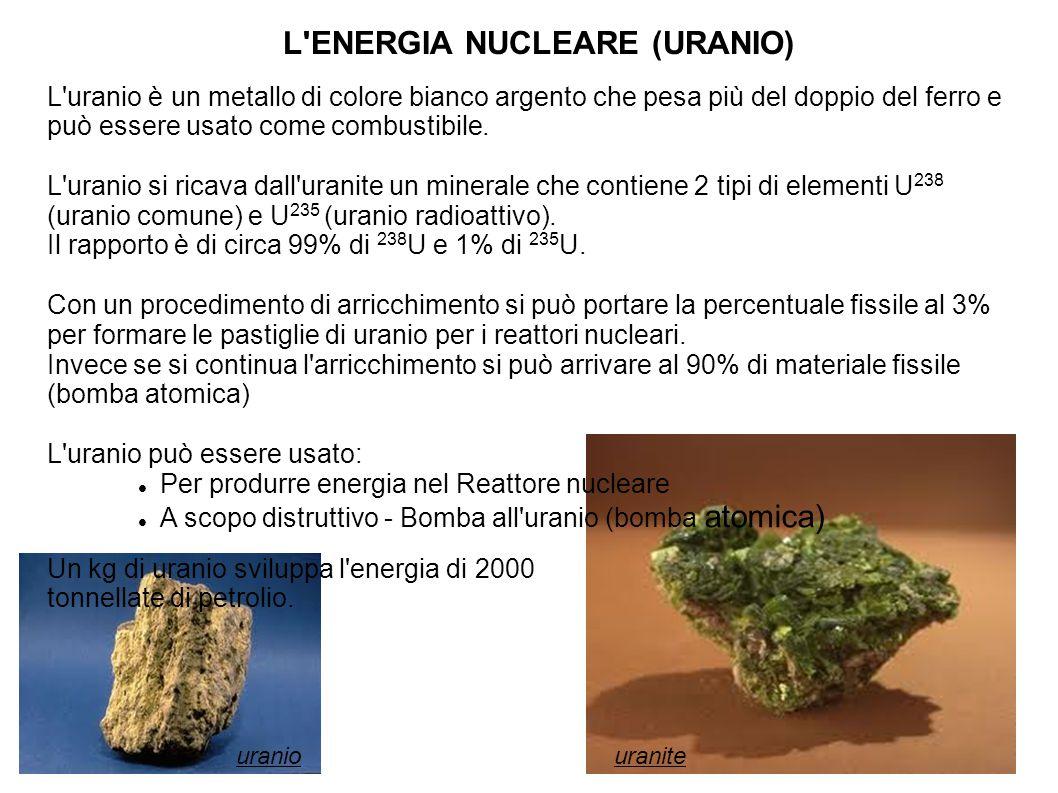 L ENERGIA NUCLEARE (URANIO)