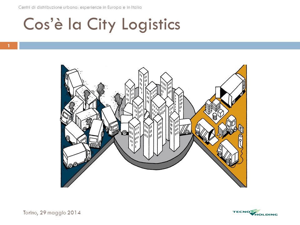 Cos'è la City Logistics