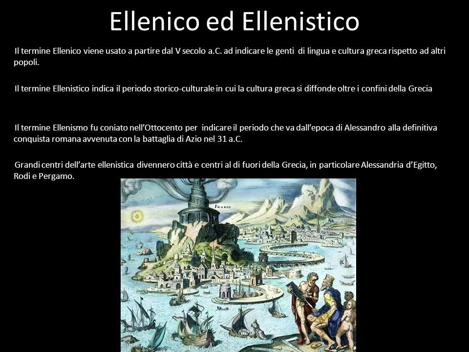 Ellenico ed Ellenistico