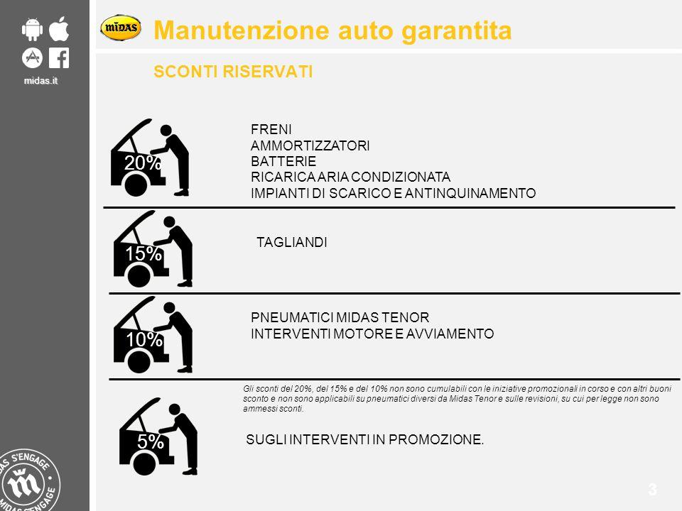 Manutenzione auto garantita