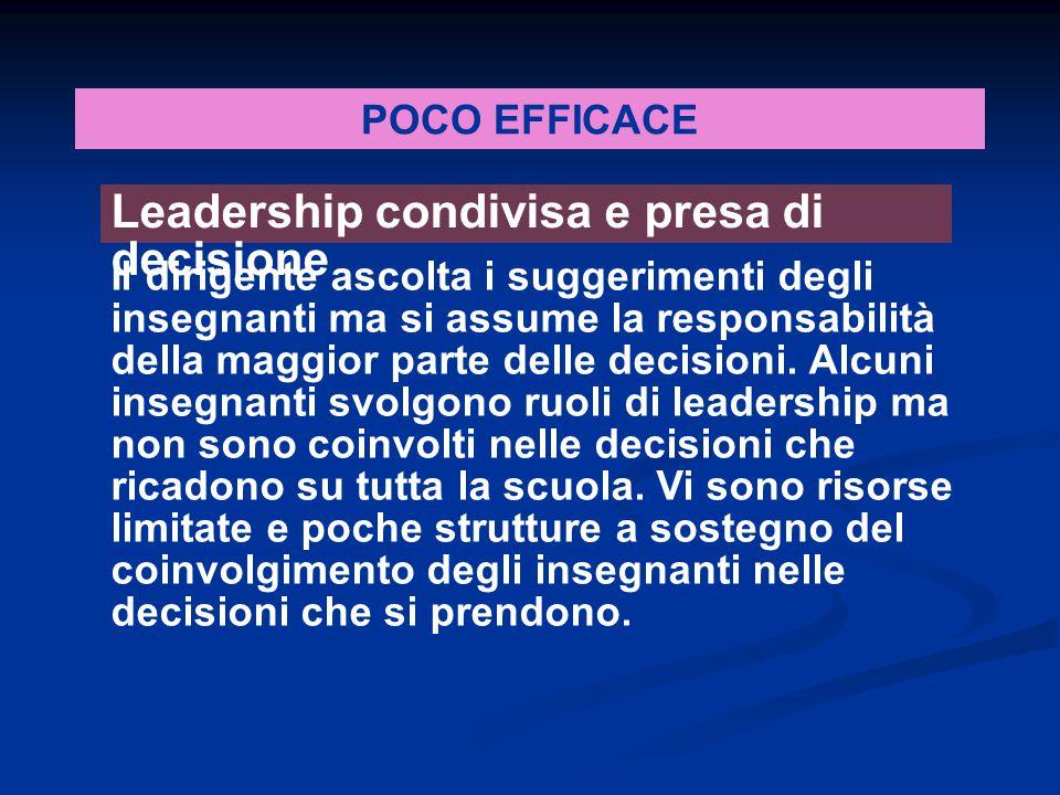 Leadership condivisa e presa di decisione