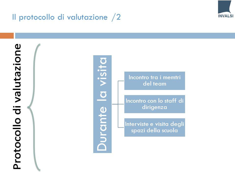 Il protocollo di valutazione /2