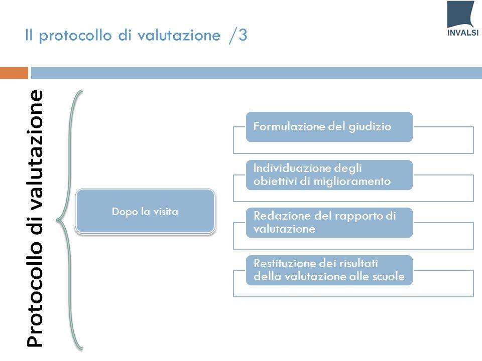 Protocollo di valutazione
