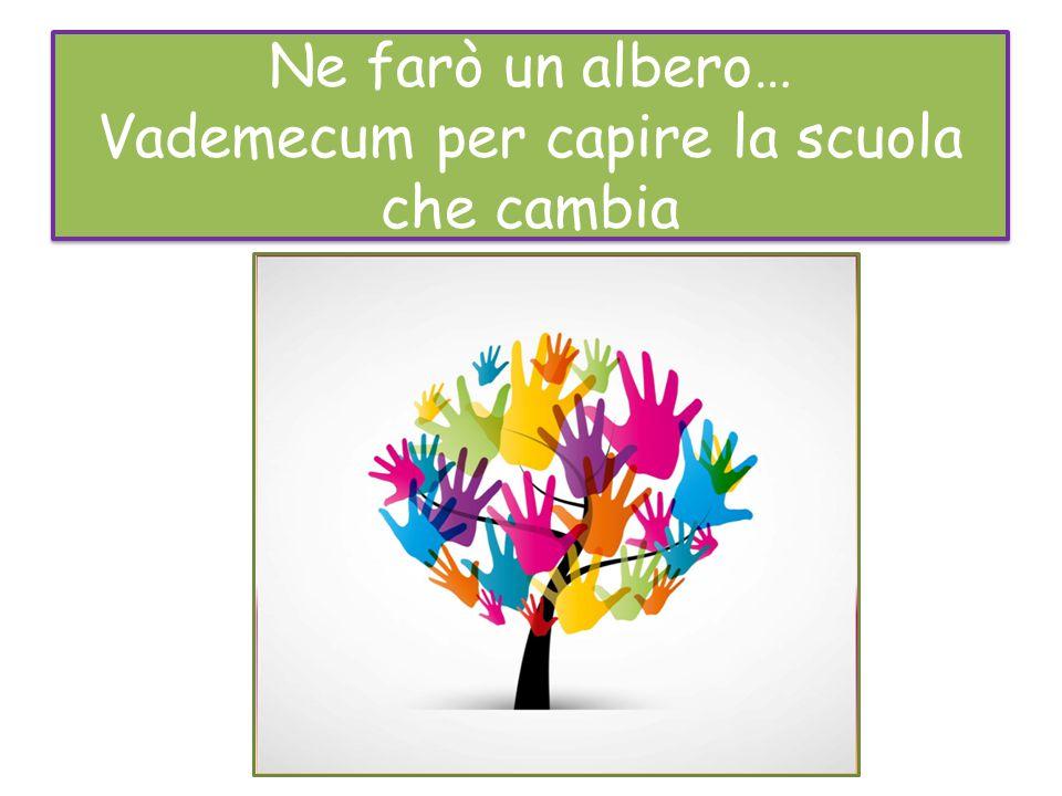 Ne farò un albero… Vademecum per capire la scuola che cambia