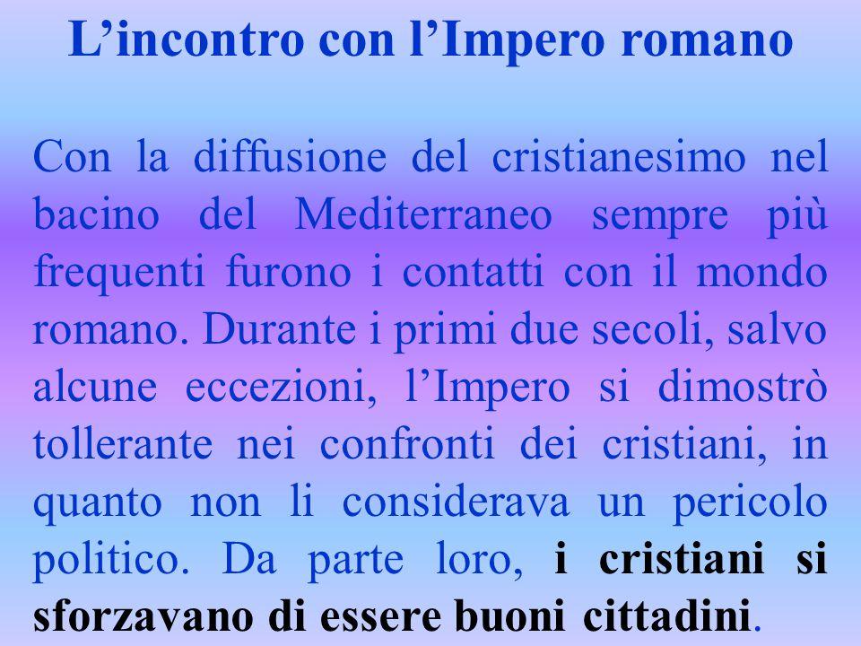 L'incontro con l'Impero romano