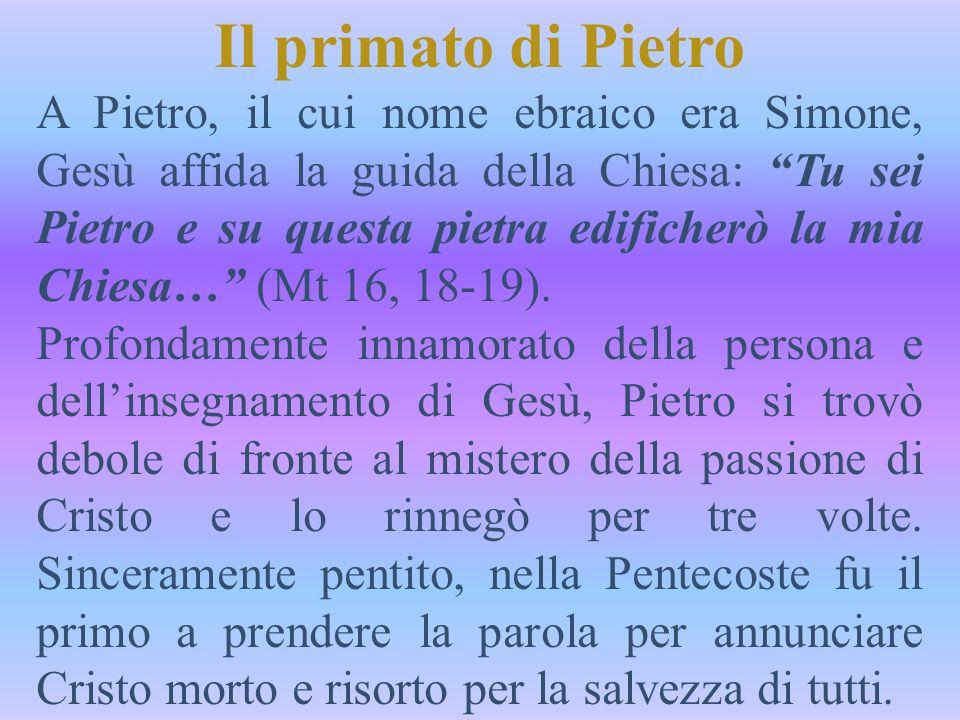 Il primato di Pietro