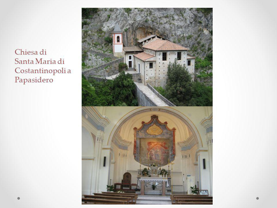 Chiesa di Santa Maria di Costantinopoli a Papasidero