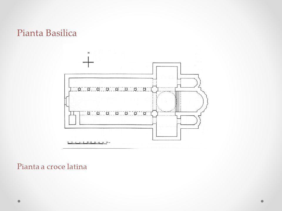Pianta Basilica Pianta a croce latina