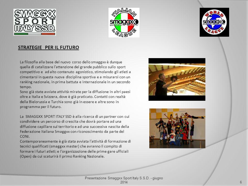 Presentazione Smaggxx Sport Italy S.S.D. - giugno 2014
