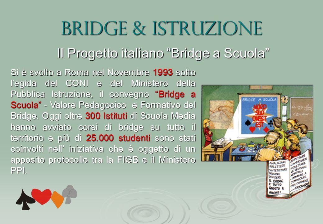 Il Progetto italiano Bridge a Scuola
