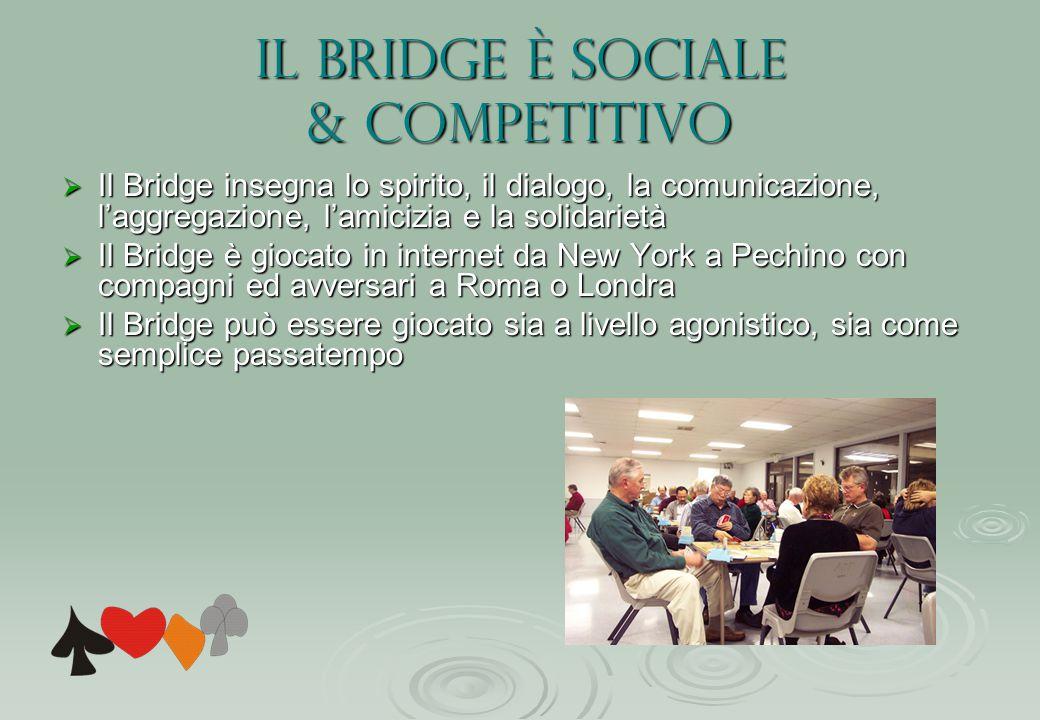 Il Bridge è sociale & competitivo