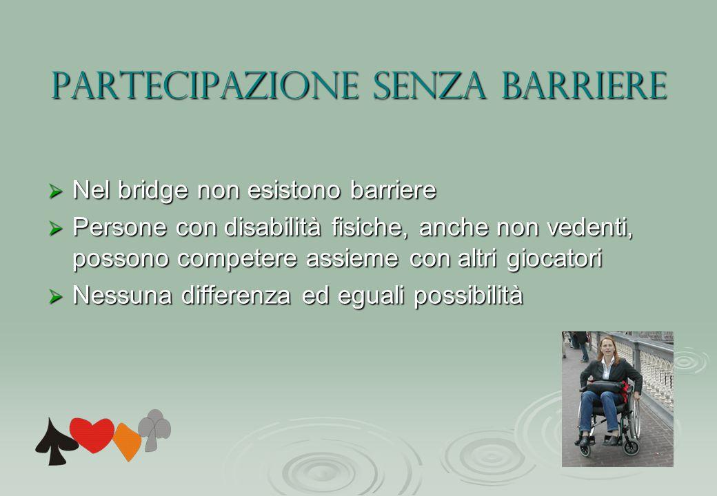 Partecipazione senza barriere