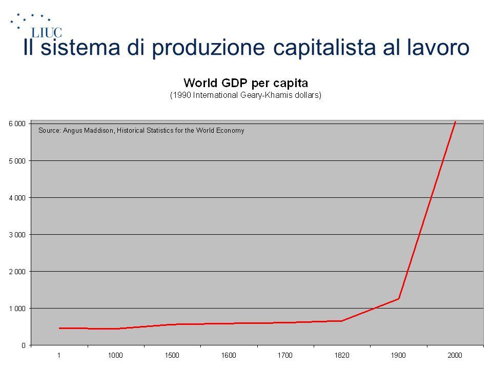 Il sistema di produzione capitalista al lavoro