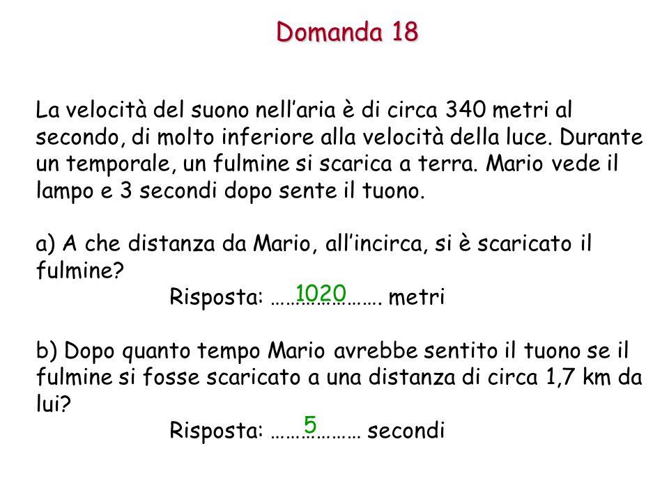 Domanda 18