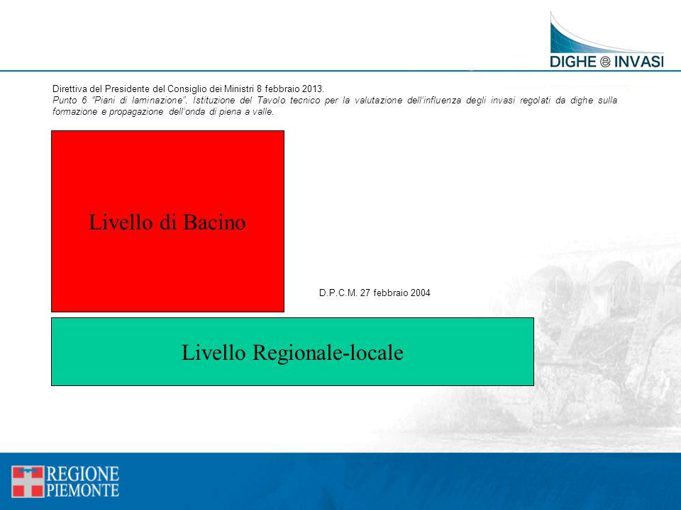 Livello Regionale-locale