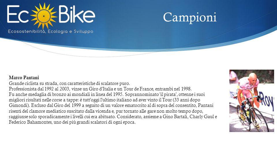 Campioni Marco Pantani