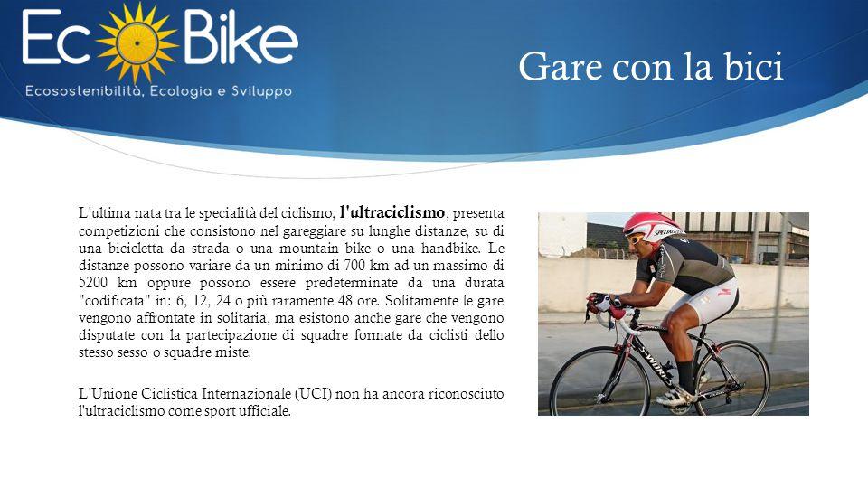 Gare con la bici