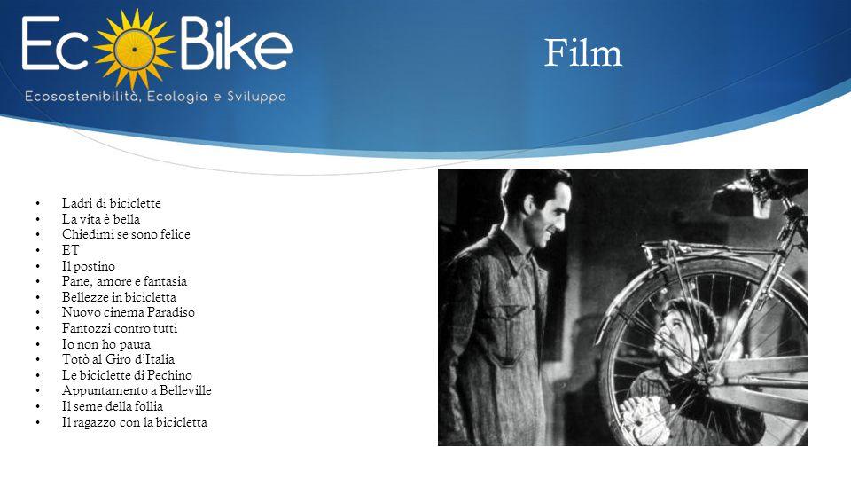 Film Ladri di biciclette La vita è bella Chiedimi se sono felice ET