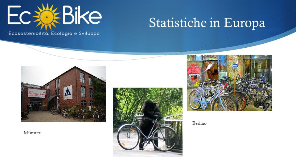 Statistiche in Europa Berlino Münster
