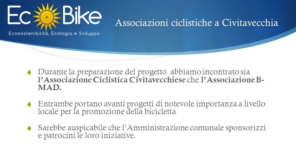 Associazioni ciclistiche a Civitavecchia