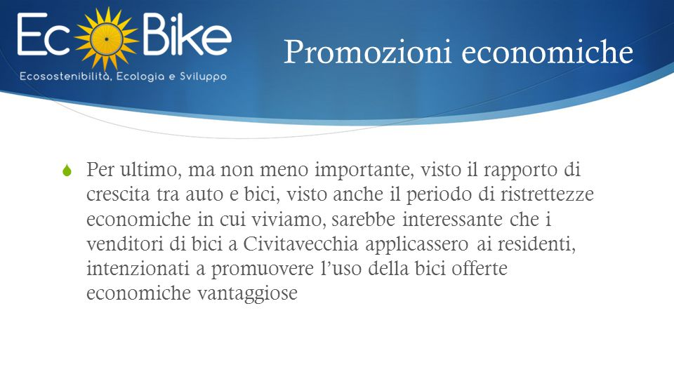 Promozioni economiche