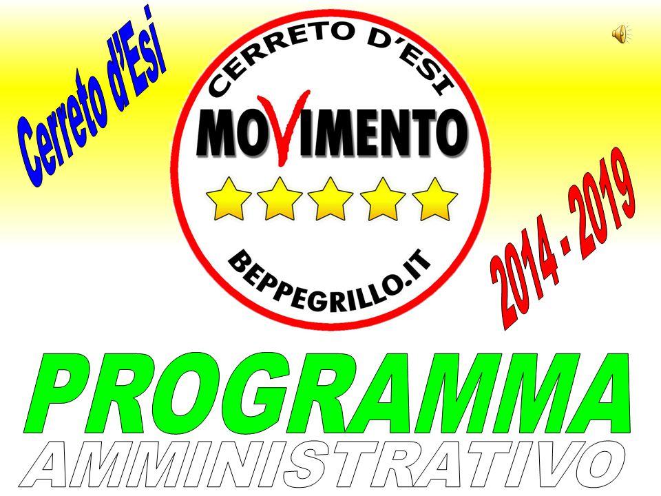 Cerreto d'Esi 2014 - 2019 PROGRAMMA AMMINISTRATIVO