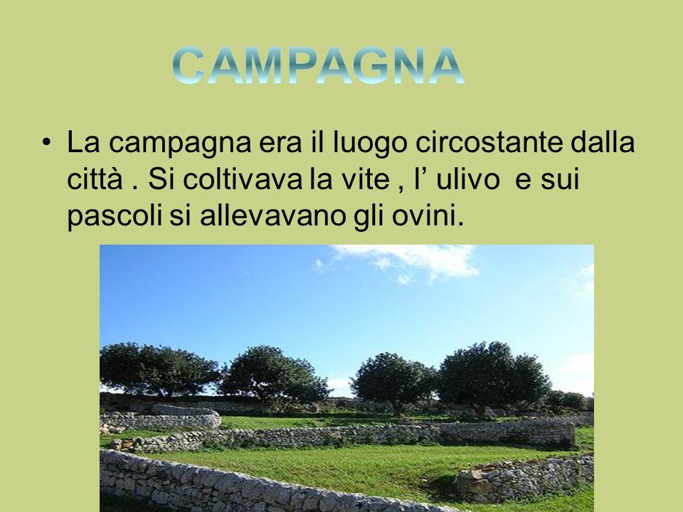 CAMPAGNA La campagna era il luogo circostante dalla città .