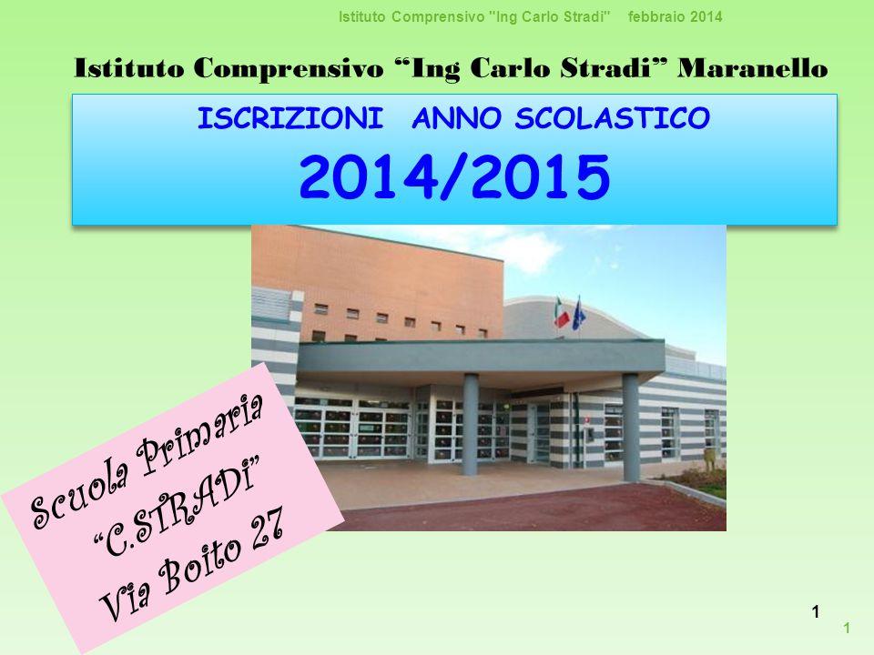 Scuola Primaria C.STRADi Via Boito 27
