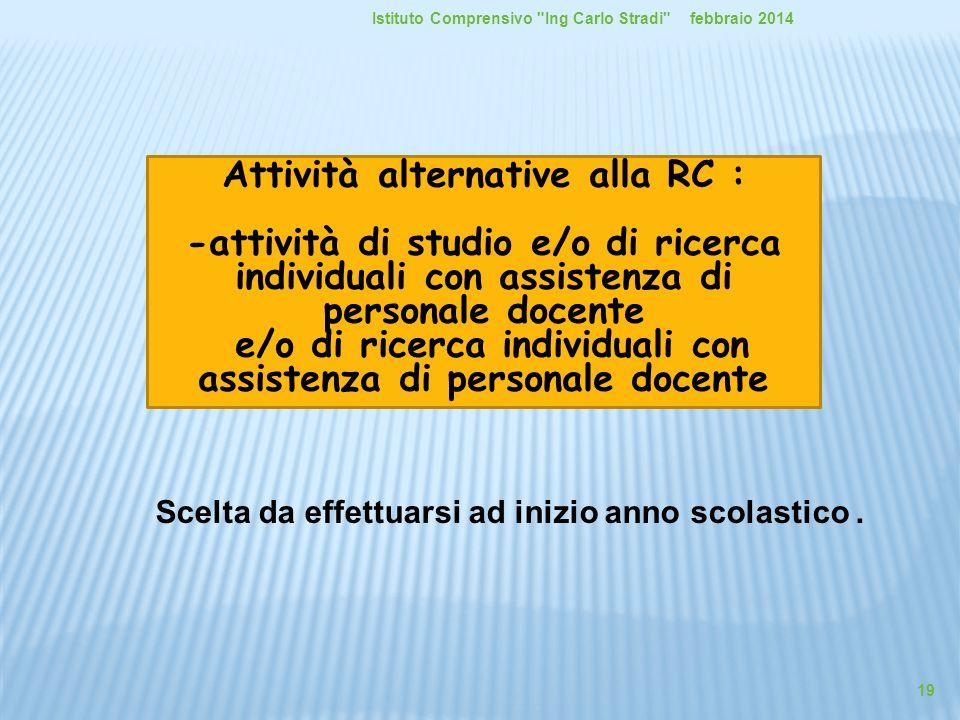 Attività alternative alla RC :