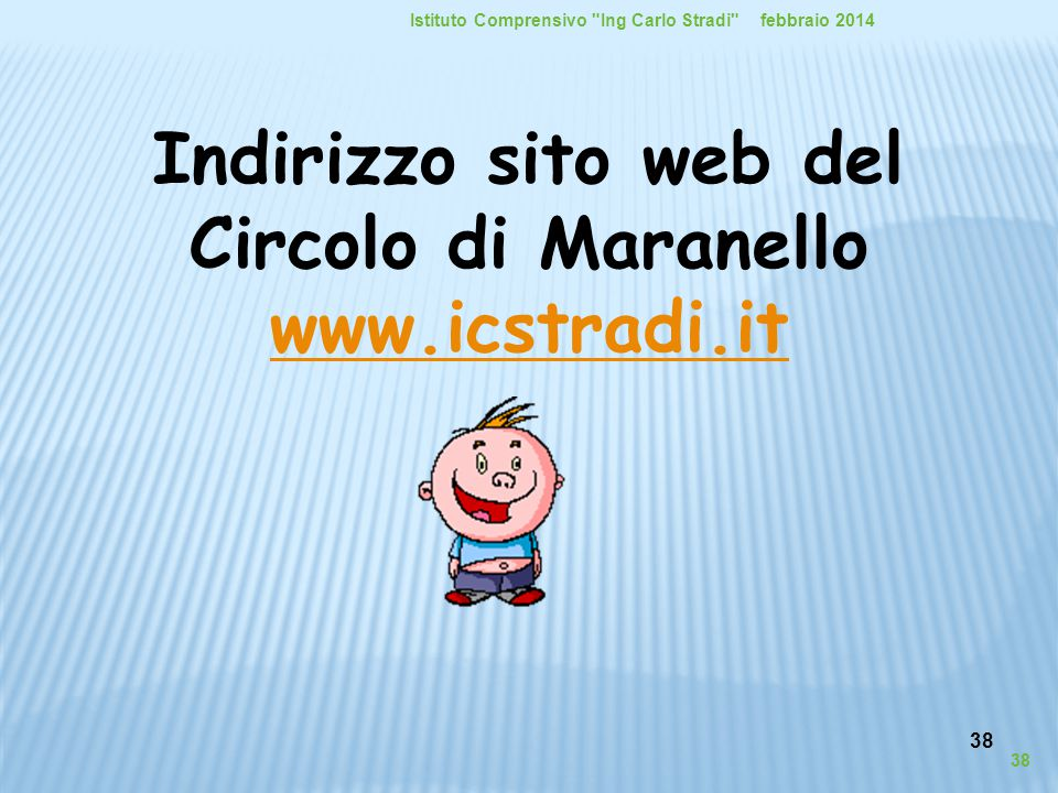 Indirizzo sito web del Circolo di Maranello www.icstradi.it