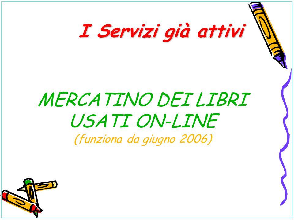 MERCATINO DEI LIBRI USATI ON-LINE (funziona da giugno 2006)
