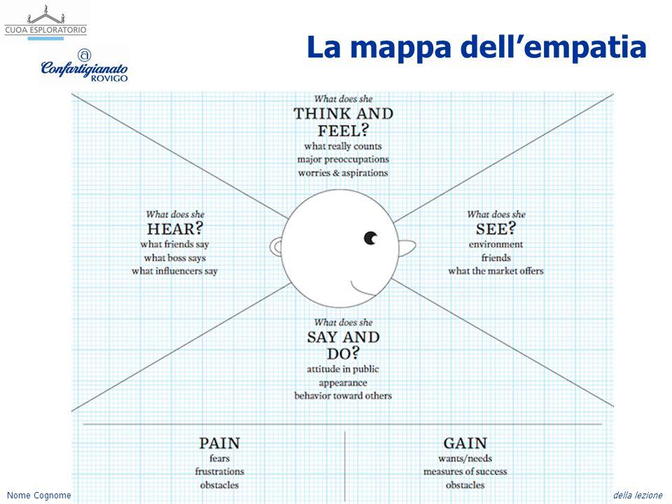 La mappa dell'empatia