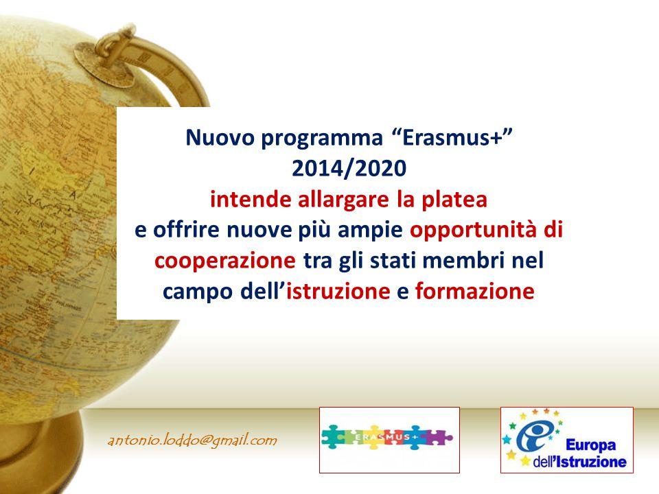 Nuovo programma Erasmus+ intende allargare la platea