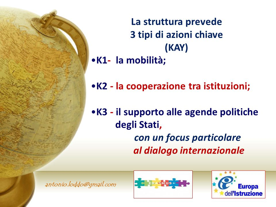 con un focus particolare al dialogo internazionale